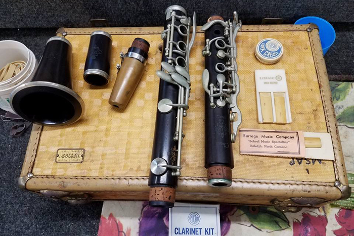 Varno Musical Instrument Repair - Vintage Leblanc Classic Paris clarinet
