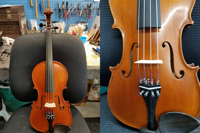 Varno Musical Instrument Repair - Lefty Violin