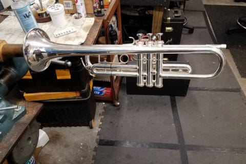 Varno Musical Instrument Repair Doc Severinsen trumpet