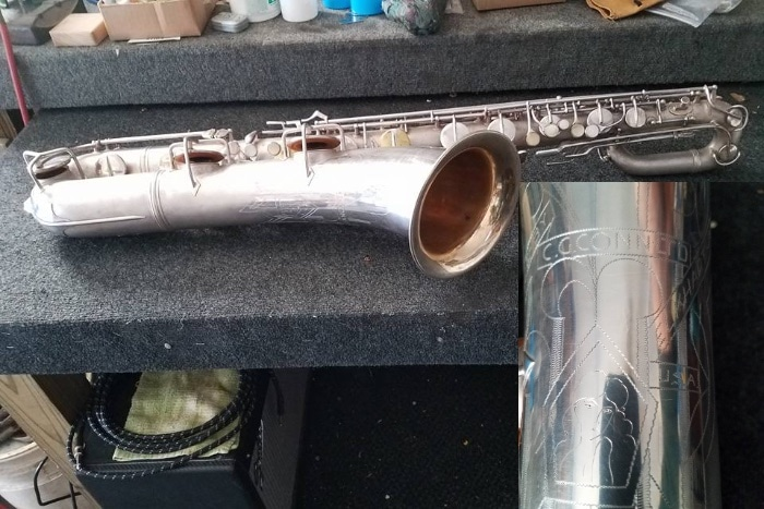 "Conn ""The Naked Lady"" Baritone Saxophone"